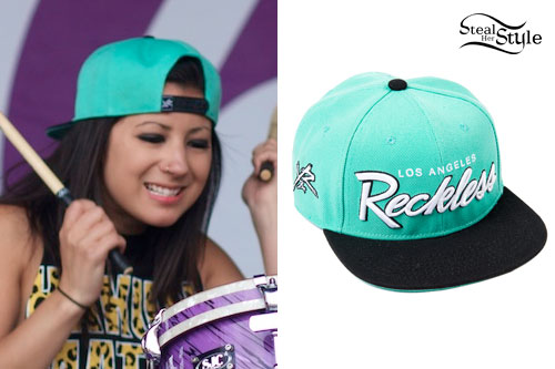 Jess Bowen: Young & Reckless Teal Snapback Hat