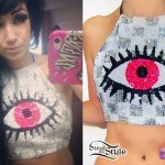 Melissa Marie Green: Sequin Eye Halter