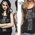 Mercedes Arn-Horn: Cross Tank Top