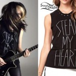 Mercedes Arn-Horn: 'Steal My Heart' Tee