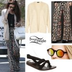 Selena Gomez: Tribal Pants Outfit