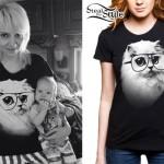 Sherri DuPree-Bemis: Cat Glasses T-Shirt