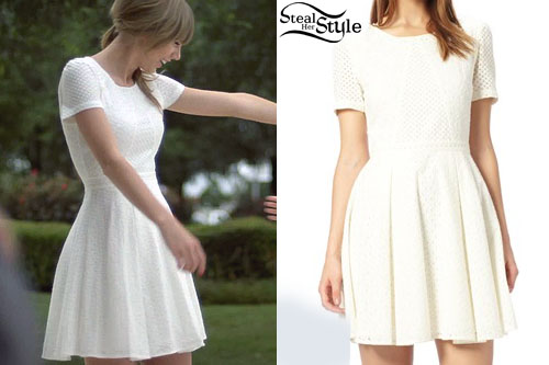 Taylor Swift Everything Has Changed Dress Steal Her Style