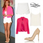 Una Healy at the ITV Studios in London June 28th, 2013 - photo: hqsource.com