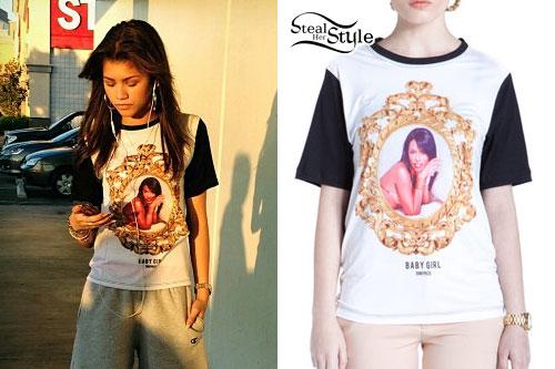 Zendaya Coleman: Aaliyah T-Shirt