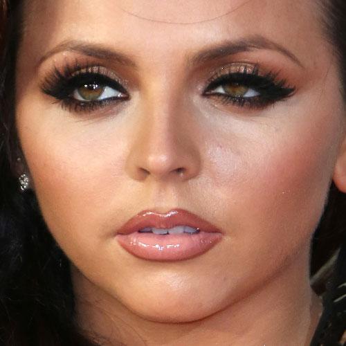 Jesy Nelson Makeup Bronze Eyeshadow Brown Eyeshadow