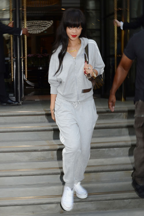 Rihanna Winter Outfits Pictures to Pin on Pinterest ...