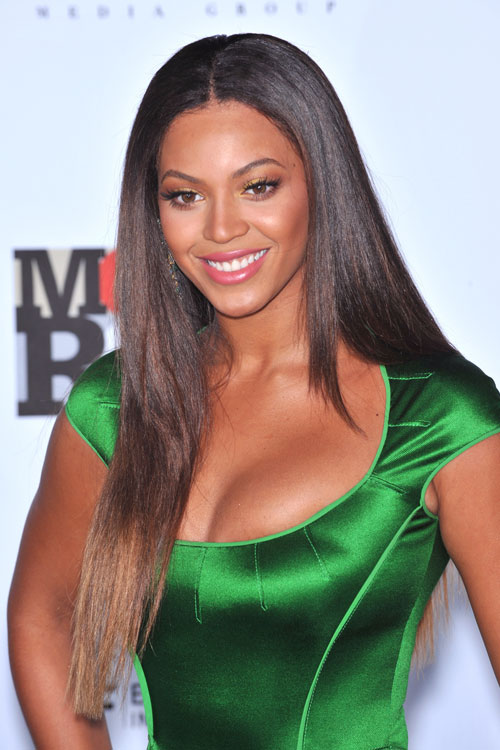 Beyonc 233 Straight Dark Brown Angled Flat Ironed Ombr 233