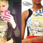 Brooklyn Allman: Comic Book Crop Top