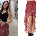Cassadee Pope: Bandana High-Low Skirt