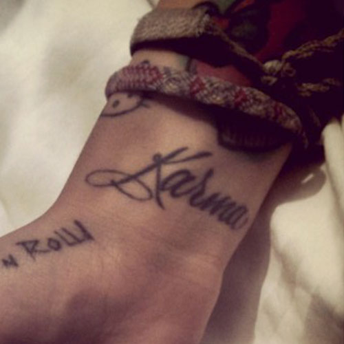 Karma Tattoo Photos Meanings Steal Her Style