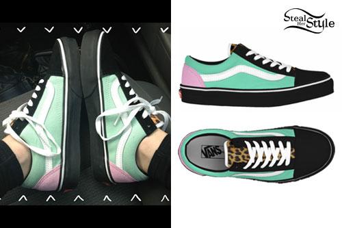 Hayley Williams Vans Shoes