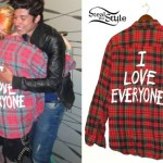 Hayley Williams: 'I Love Everyone' Plaid Shirt