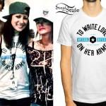 Jess Bowen: White TWLOHA T-Shirt