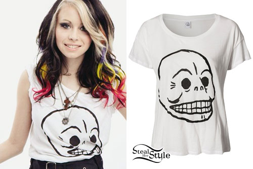Mercedes Arn-Horn: Skull T-Shirt