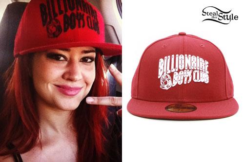 Nikki Williams: Billionaire Boys Club Hat