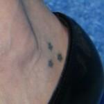 pauley-perrette-stars-ankle-tattoo