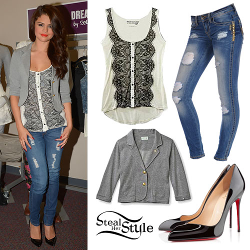 Selena Gomez at her Fall Dream Out Loud Launch July 24th, 2013 - photo: smg-news