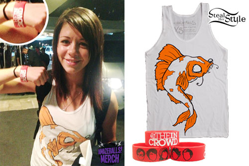 Tay Jardine: Cartoon Fish Tank Top