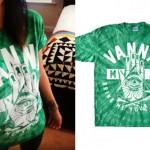 Tay Jardine: Green Tie Dye Vanna T-Shirt