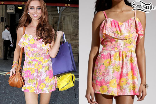 Una Healy arriving at the Rays of Sunshine concert at the Royal Albert Hall July 6th, 2013 - photo: Daily Mail