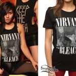 Yasmine Yousaf: Nirvana Bleach Tee