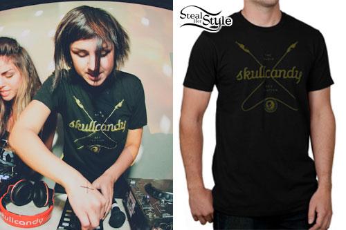 Yasmine Yousaf: Skullcandy T-Shirt