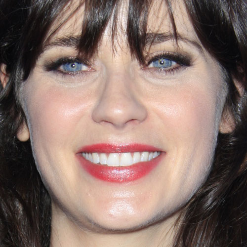 Zooey Deschanel Makeup zooey deschanel makeup steal her style