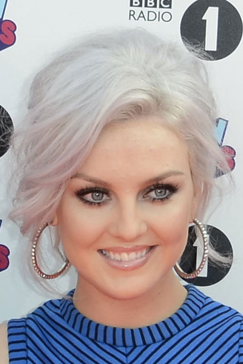Perrie Edwards Silver Hair