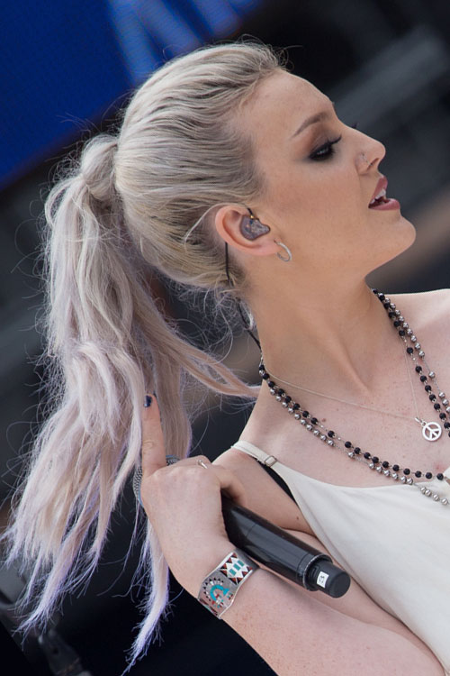 perrie edwards hair steal her style