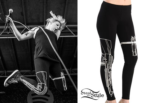 Anna Worstell: Machine Gun Leggings
