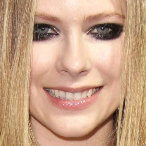 makeup Avril lavigne