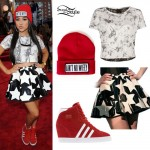Becky G: 2013 VMA Outfit