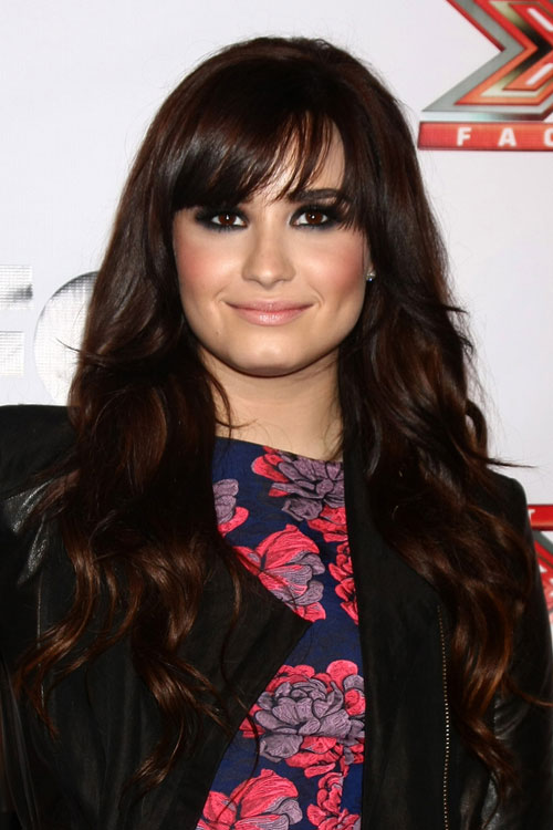the gallery for gt demi lovato brown hair 2013