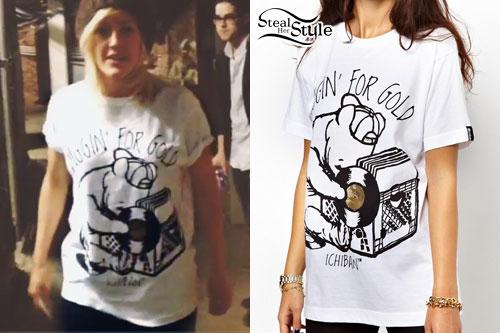 Ellie Goulding: Diggin For Gold T-Shirt