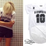 Ellie Goulding: Dimepiece Jersey Tunic