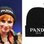 Hayley Williams: Panda Bear Beanie