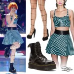 Hayley Williams 2013 Teen Choice Awards Performance Outfit