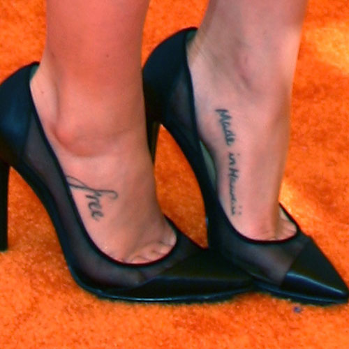 janel parrish tattoos meanings steal her style