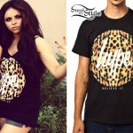 Jesy Nelson: Hype Leopard Circle Top