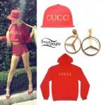 Lil Debbie: Cucci Hat & Hoodie