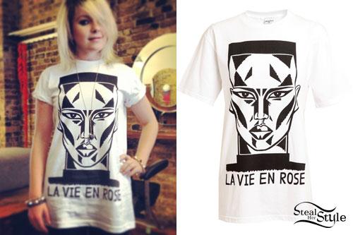 Little Boots: La Vie En Rose T-Shirt