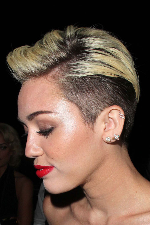 Miley cyrus short pixie haircut newhairstylesformen2014 com