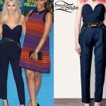 Mollie King: Zip Pocket Jumpsuit