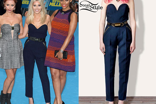 Mollie King: Zip Pocket Jumpsuit
