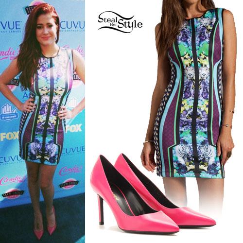 Nikki Williams: 2013 Teen Choice Awards Outfit