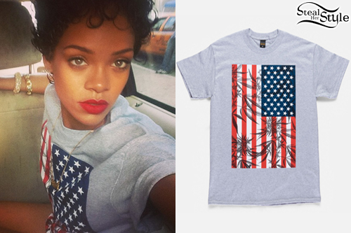 photo posted by Rihanna on Instagram
