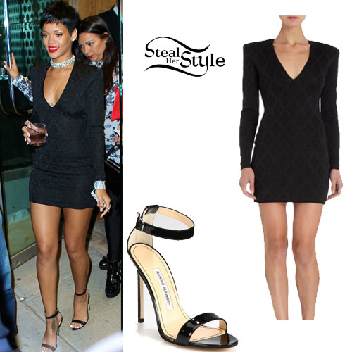 Rihanna Vmas 2013 After Party Outfit Steal Her Style