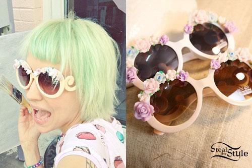 Sherri DuPree-Bemis: Flower Sunglasses
