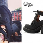 Sierra Kusterbeck: Cutout Ankle Boots